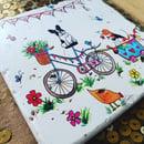 Image 1 of 'Bicycle Ride' Stone Coaster