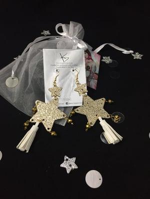Image of Double Star Earrings