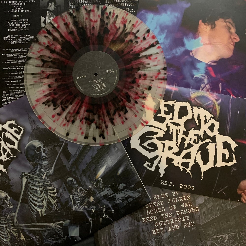 """Led To The Grave - S/T - 12"""" LP"""