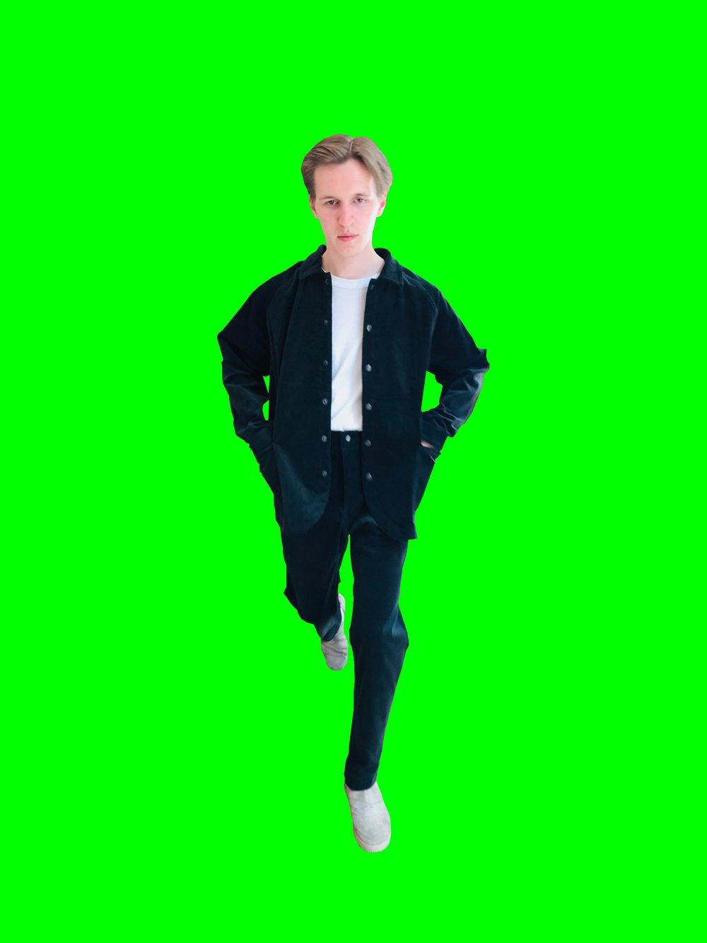 Image of Maja Brix & Aarstiderne - UNISEX FULL SET - Dark Green Corduroy