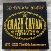 "Image of ""50 ROCKIN' YEARS""  3 CD BOX SET -  CRAZY CAVAN 'N' THE RHYTHM ROCKERS CRCD17"