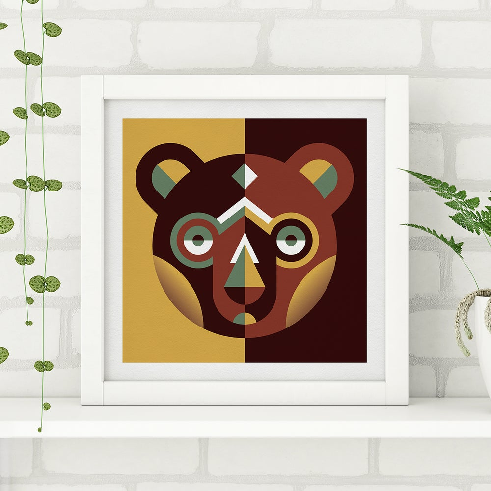 Image of Wood Animals - Bear