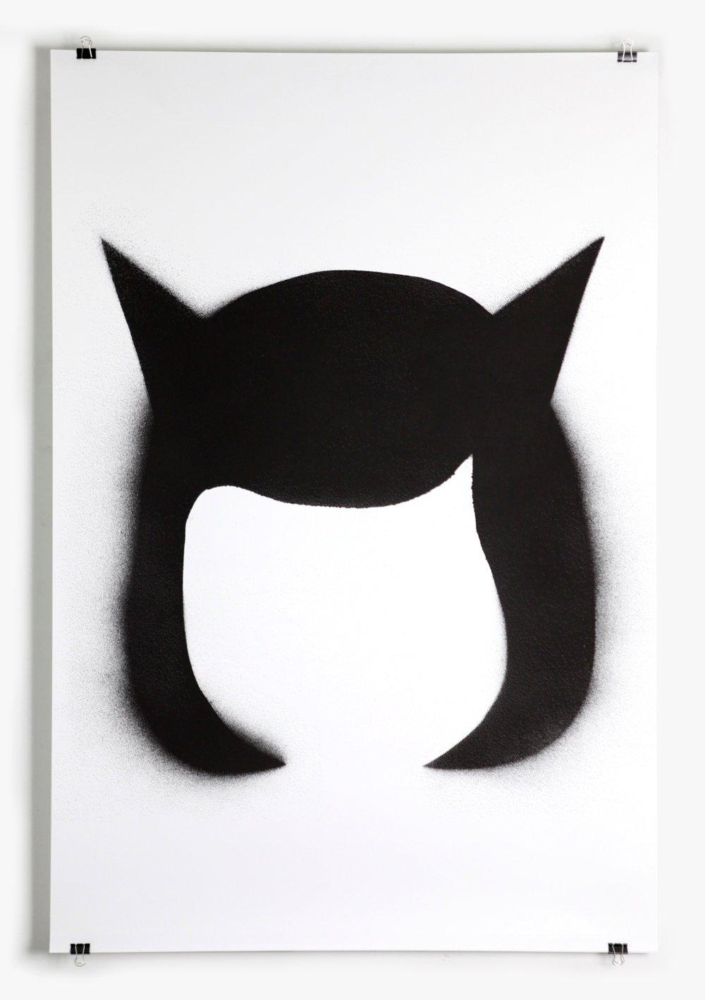 Image of Black stencil - poster #2