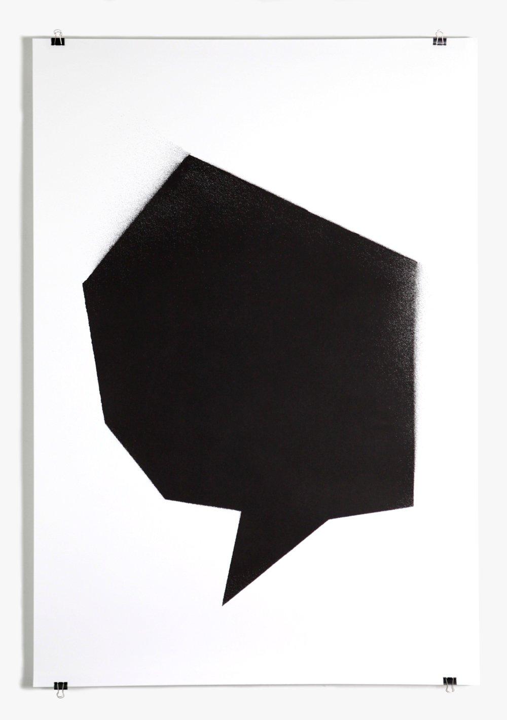 Image of Black stencil - poster #4