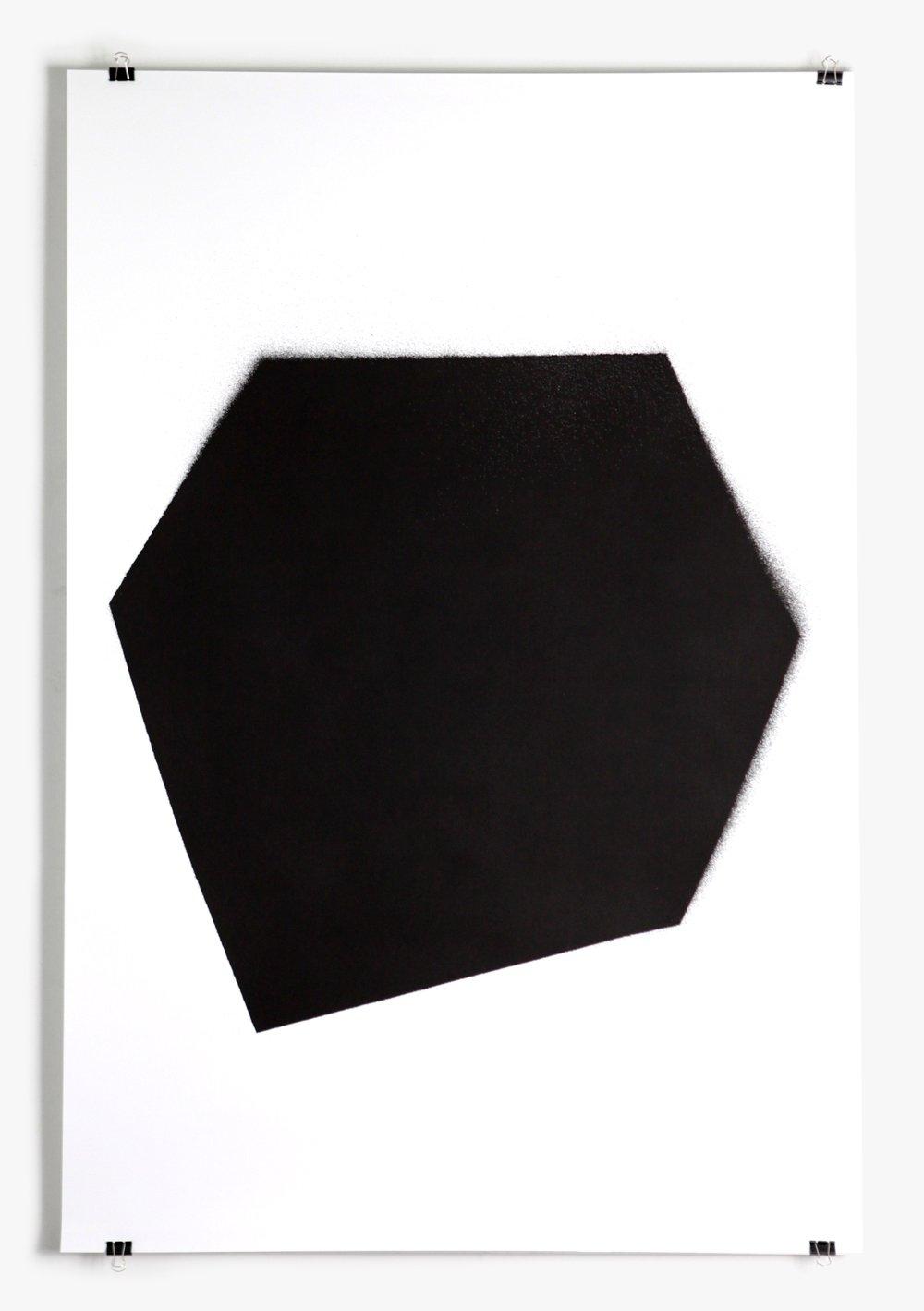 Image of Black stencil - poster #5