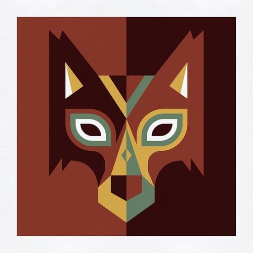 Image of Wood Animals - Wolf