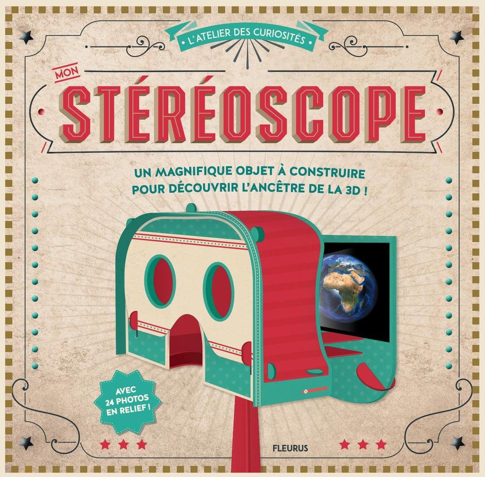 Image of  Mon stéréoscope - Un magnifique objet à construire pour découvrir l'ancêtre de la 3D -