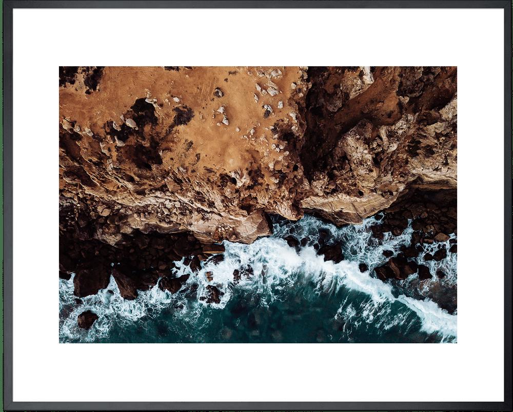 Image of Praia do Tonel - 50x40 cm inkl. Rahmen