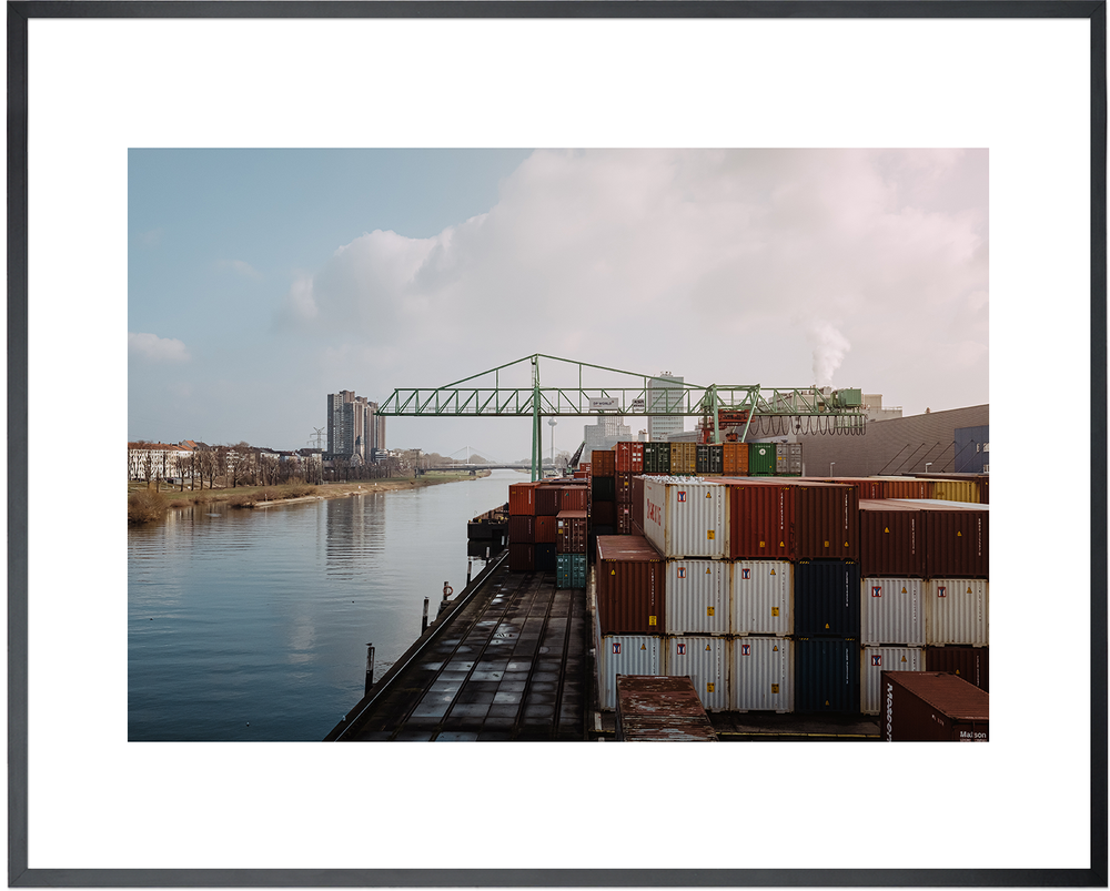 Image of Container - DIN A3 inkl. Rahmen