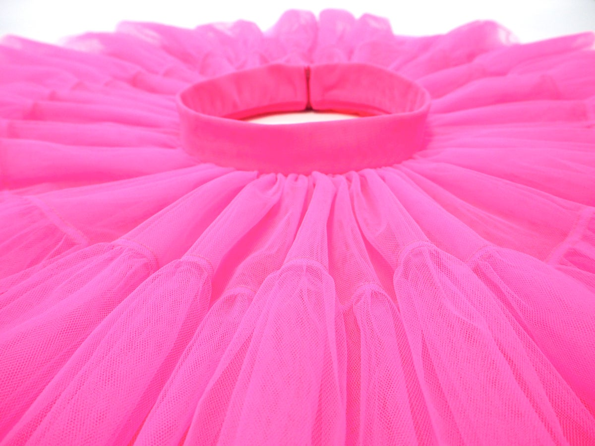 Jupe tutu mini rose bonbon