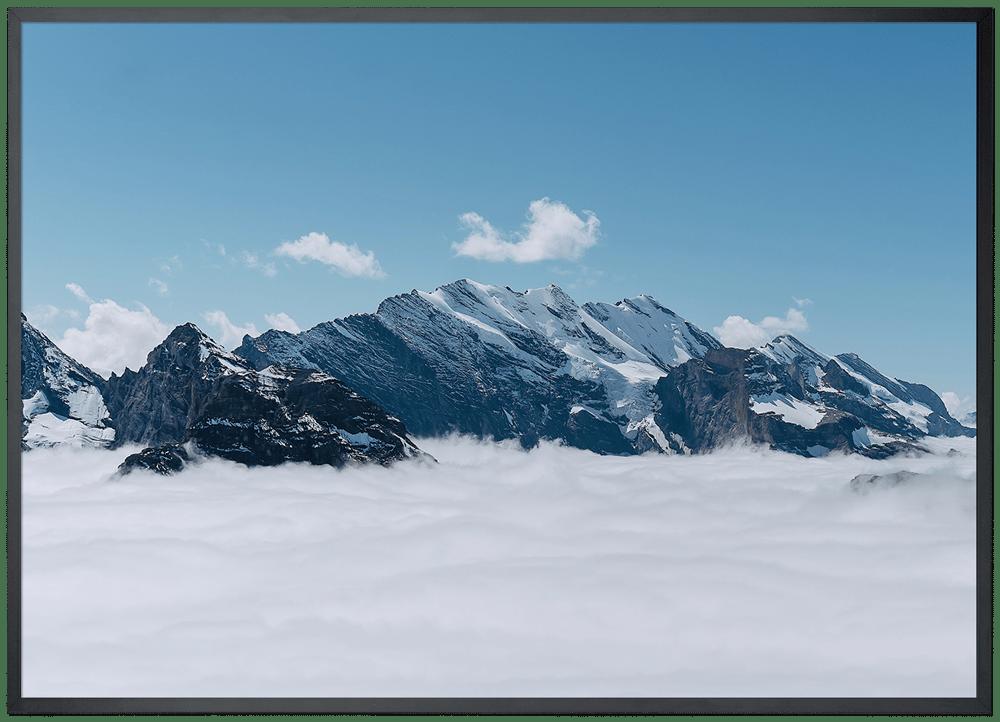 Image of Jungfrau - DIN A3 inkl. Rahmen