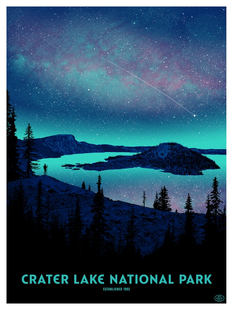 "Image of ""CRATER LAKE NATIONAL PARK"""