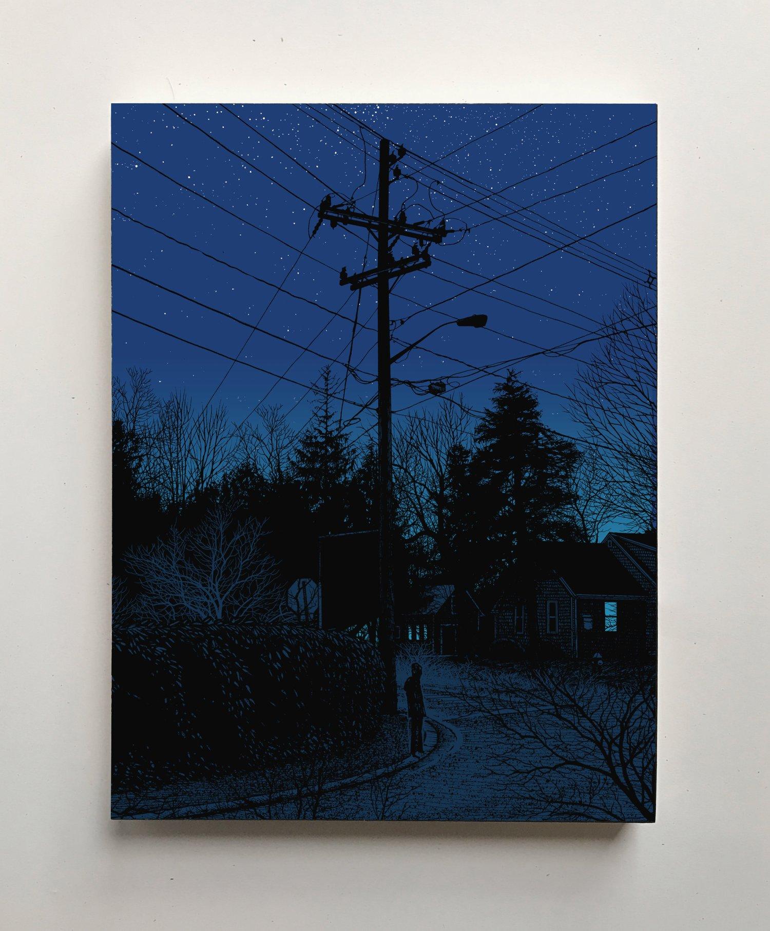 "Image of ""BREADCRUMB TRAIL #002  - 41˚37'31"" N 70˚23""12"" W"""