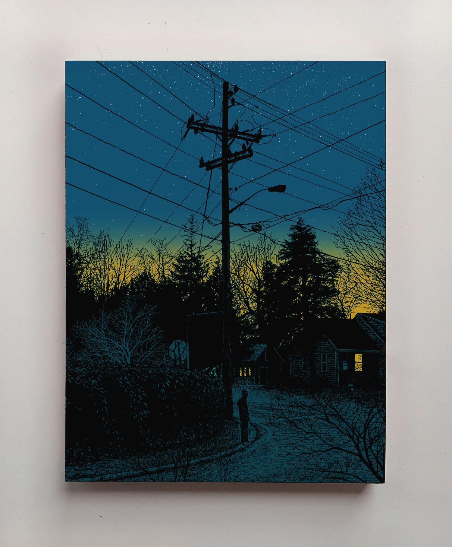 "Image of ""BREADCRUMB TRAIL #002 - 41˚37'31"" N 70˚23""12"" W"" - ORANGE VARIANT"