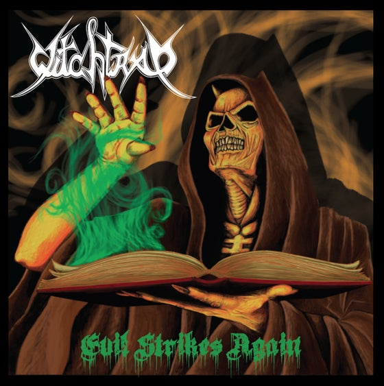 Image of Witchtrap —Evil Strikes Again LP