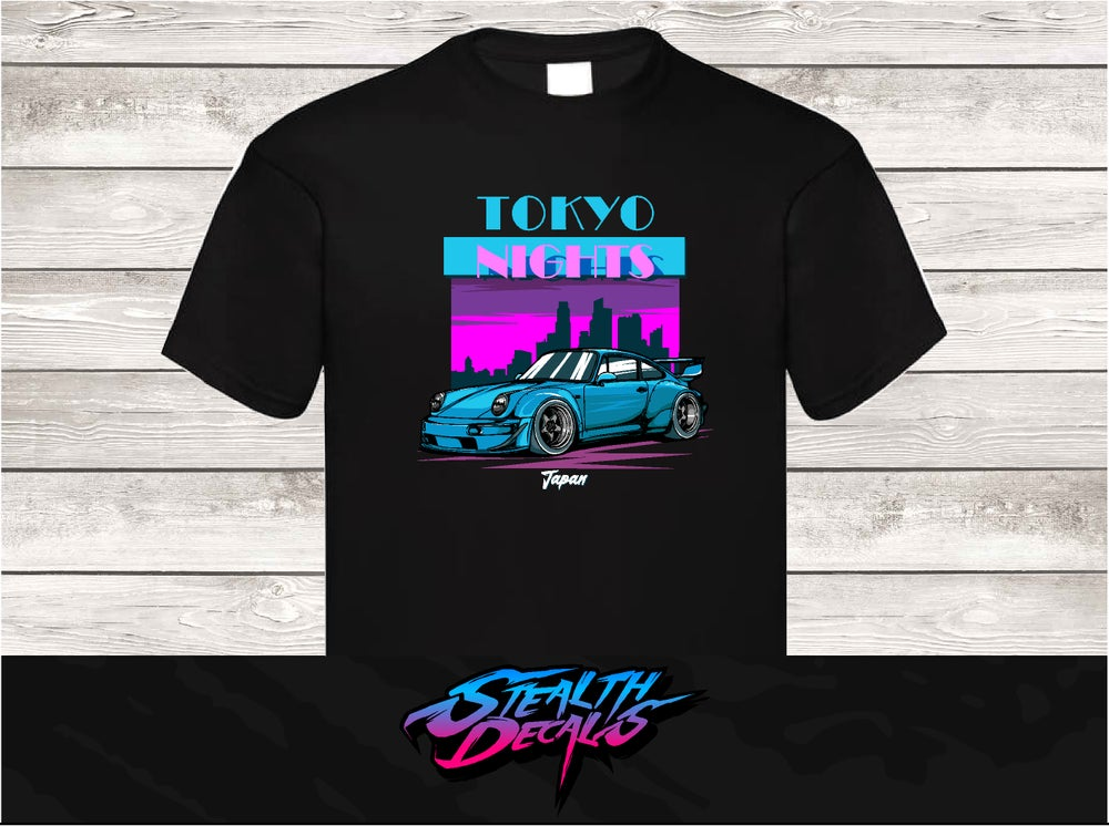 Image of Tokyo NIghts RWB Inspired Tshirt