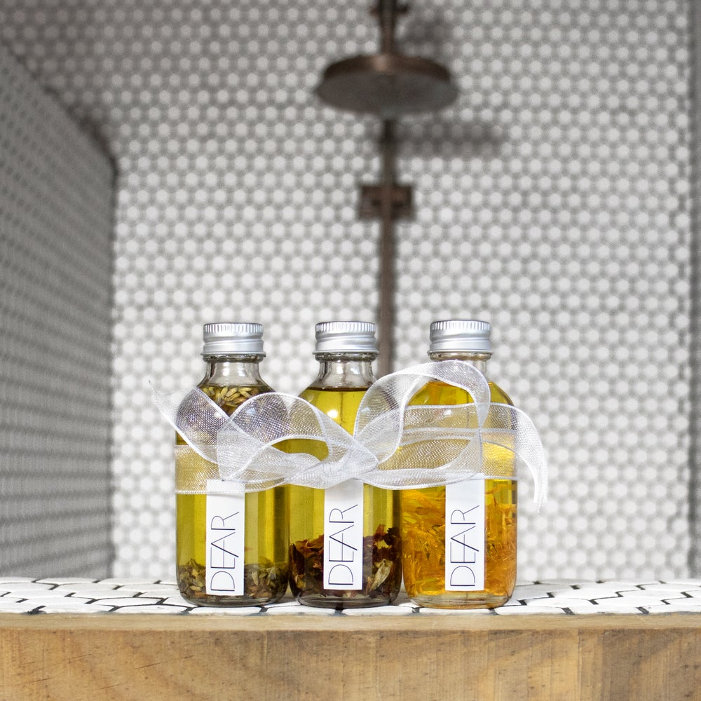 Image of Organic Body Oil Gift Set by Dear