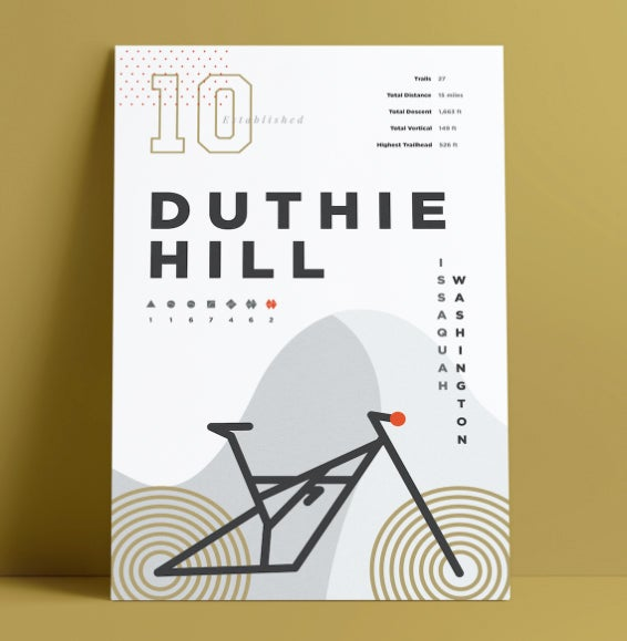 Image of Duthie Hill Poster - Matte