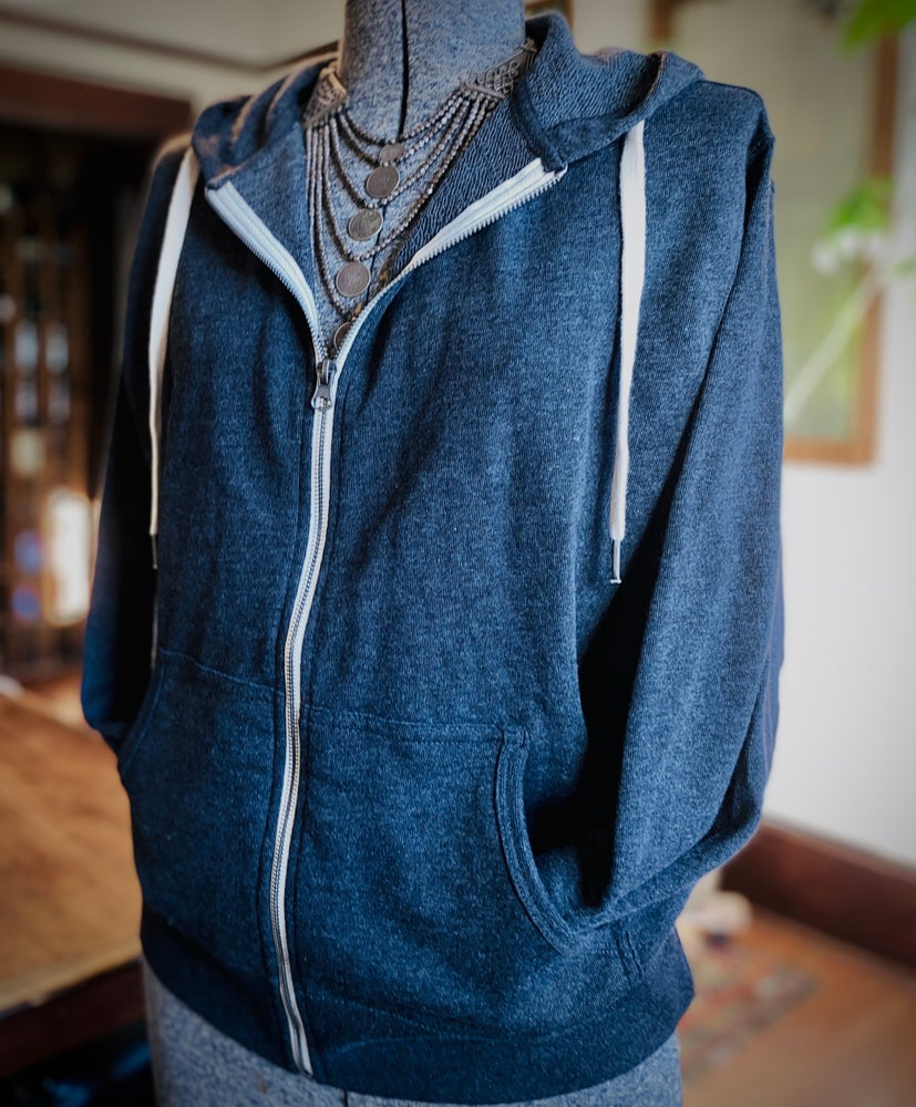 Image of Stile Floreale Charcoal Hoody