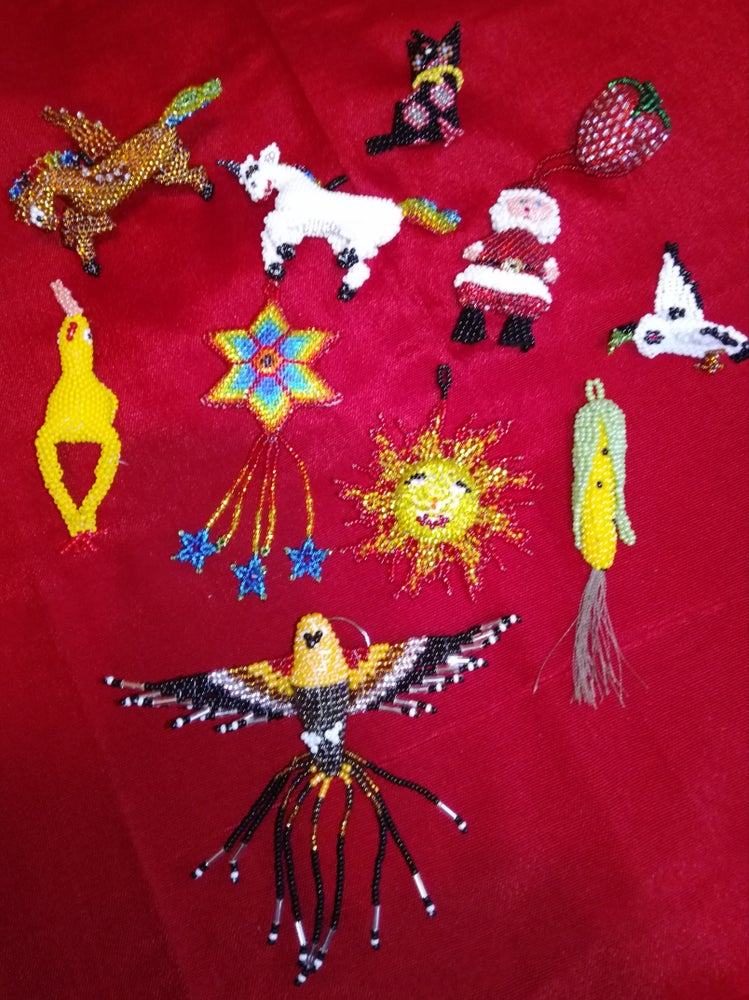 Image of Beaded Ornaments