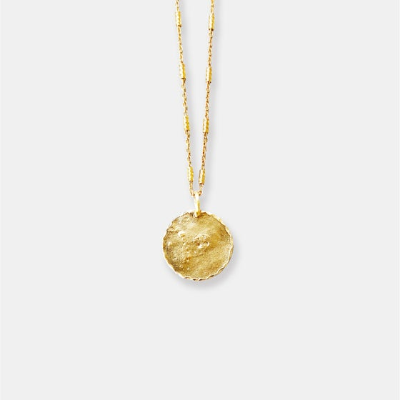Image of  Lila Necklace/ 24K GOLD-COATED SILVER