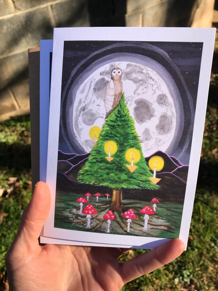 Image of Pagan holiday card - 5 pack