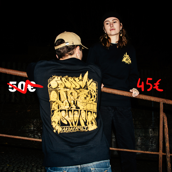 Image of Home Of All Scenes Sweater black