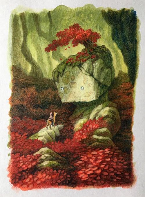 Image of L'arbre rouge