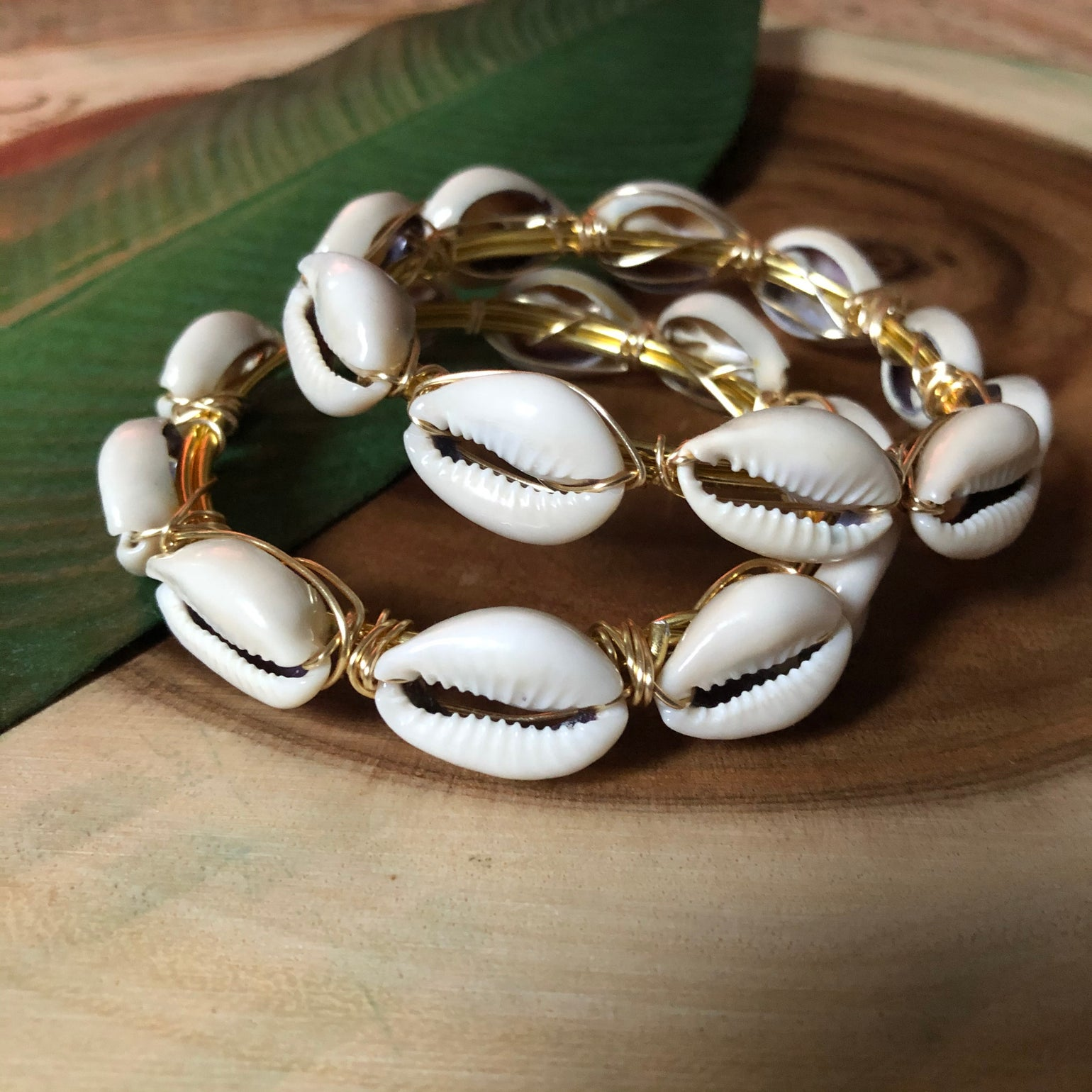 Image of The Essence- Cowrie Stackers