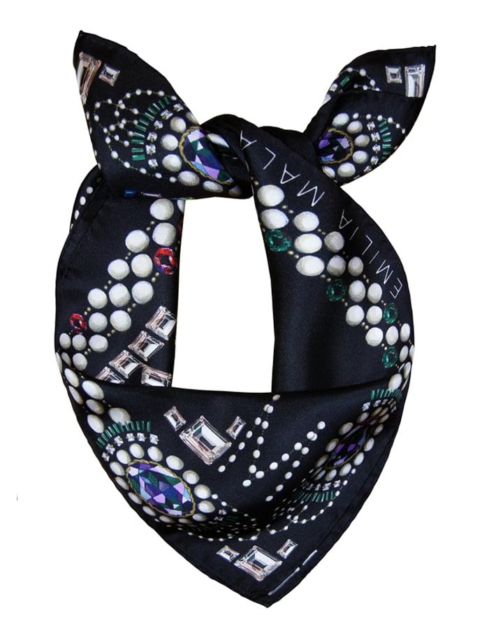 Image of Très Brillante Silk Scarf