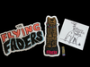 Flying Faders Stickers and Pins