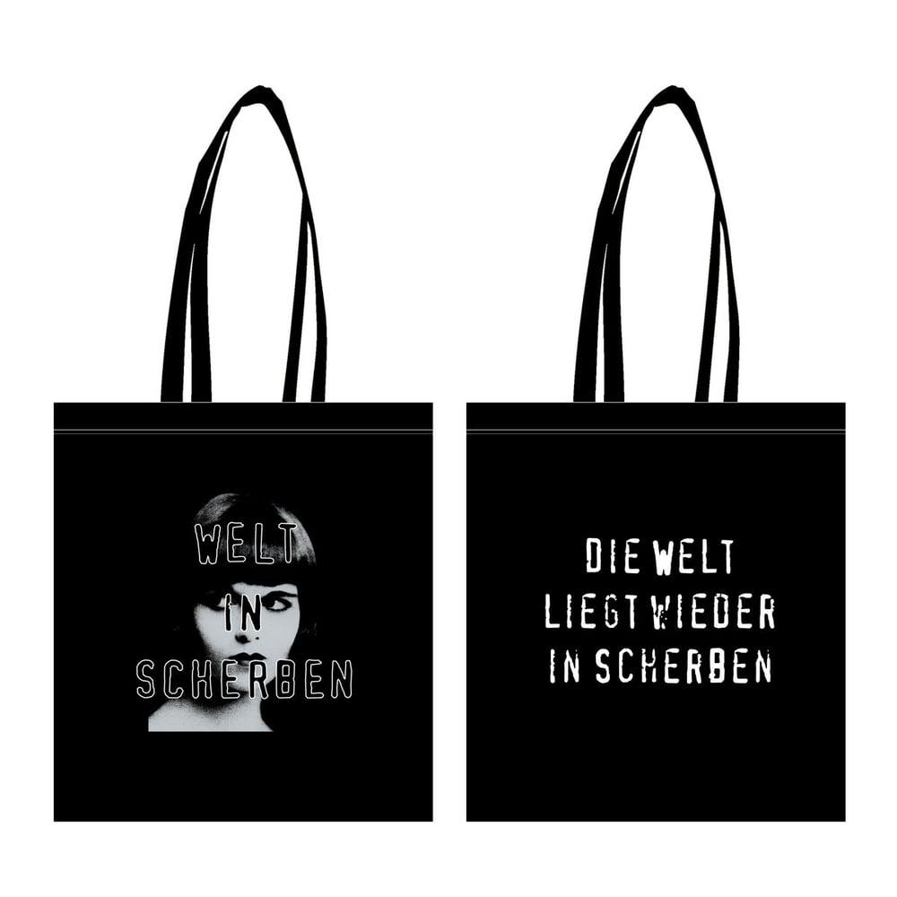 Image of Welt In Scherben Tote Bag