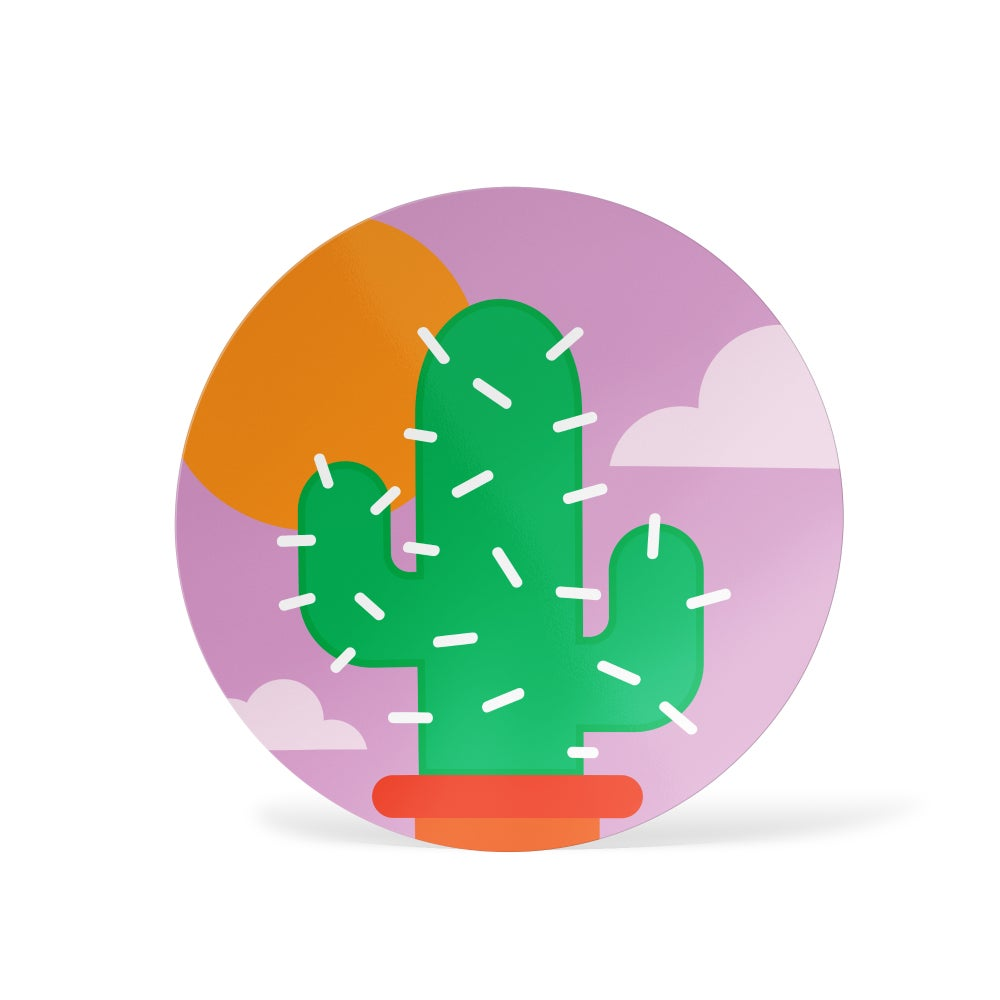 Image of Sunset Cactus Sticker