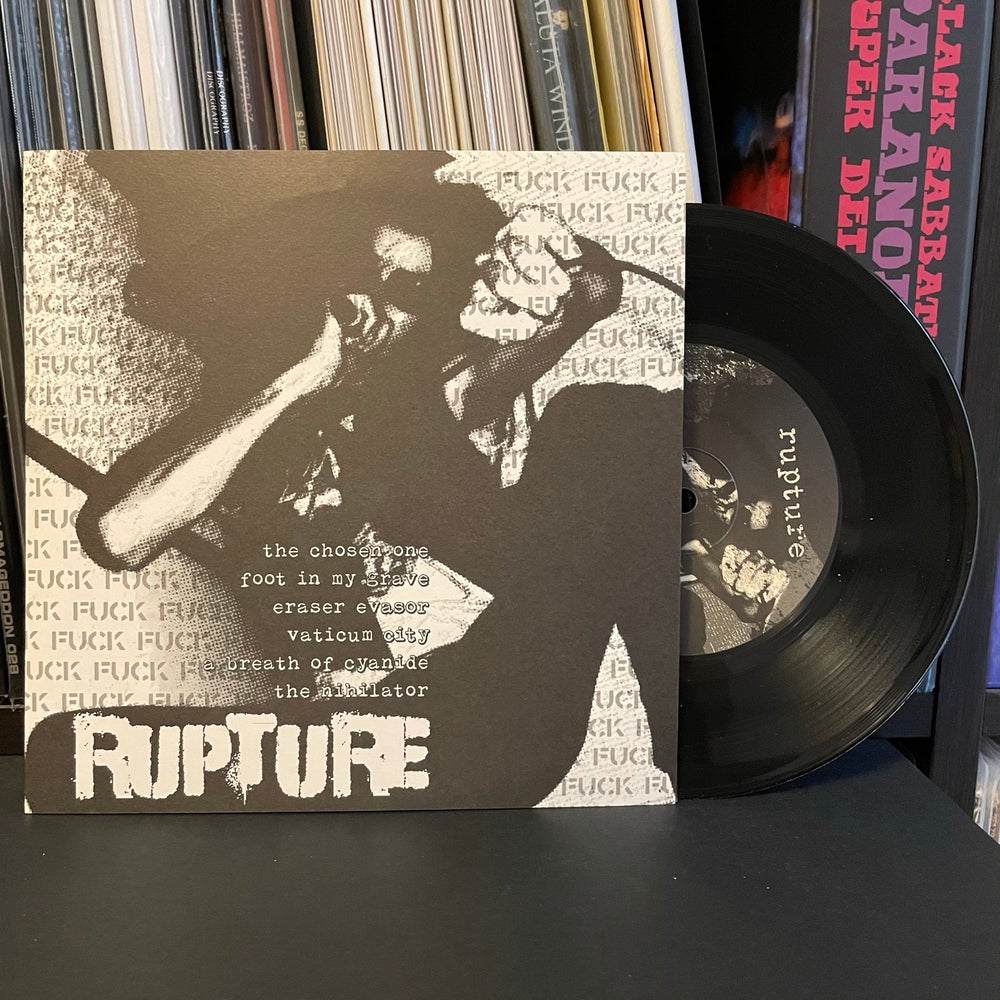"BRUTAL TRUTH / RUPTURE - Split 7"" EP"