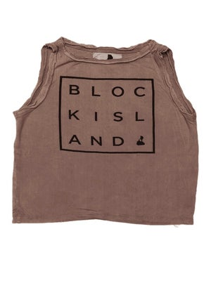"BI ""Square"" Crop Top"