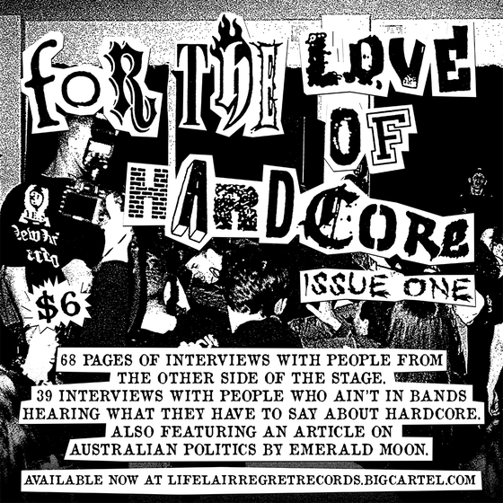Image of For The Love Of Hardcore Zine