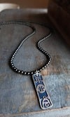Ethnic Symbol Totem Necklace (One of a Kind)