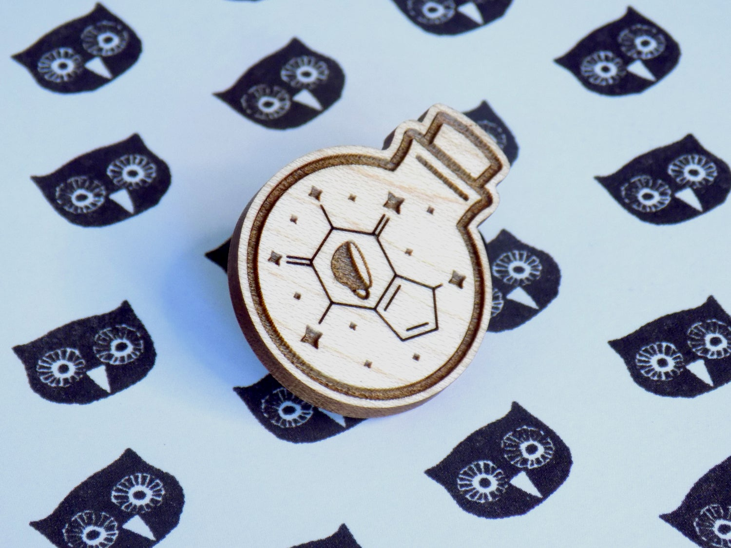 Potion of Speed Magical Caffeine Pin / Magnet