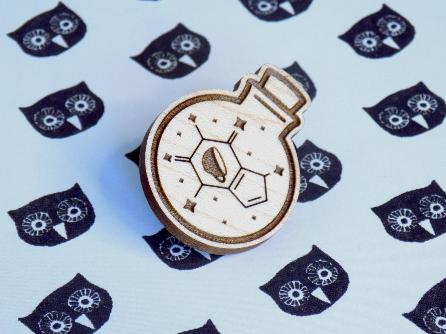 Image of Potion of Speed Magical Caffeine Pin / Magnet