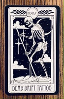 Image 2 of Dead Drift Tattoo Tarot Card Sticker