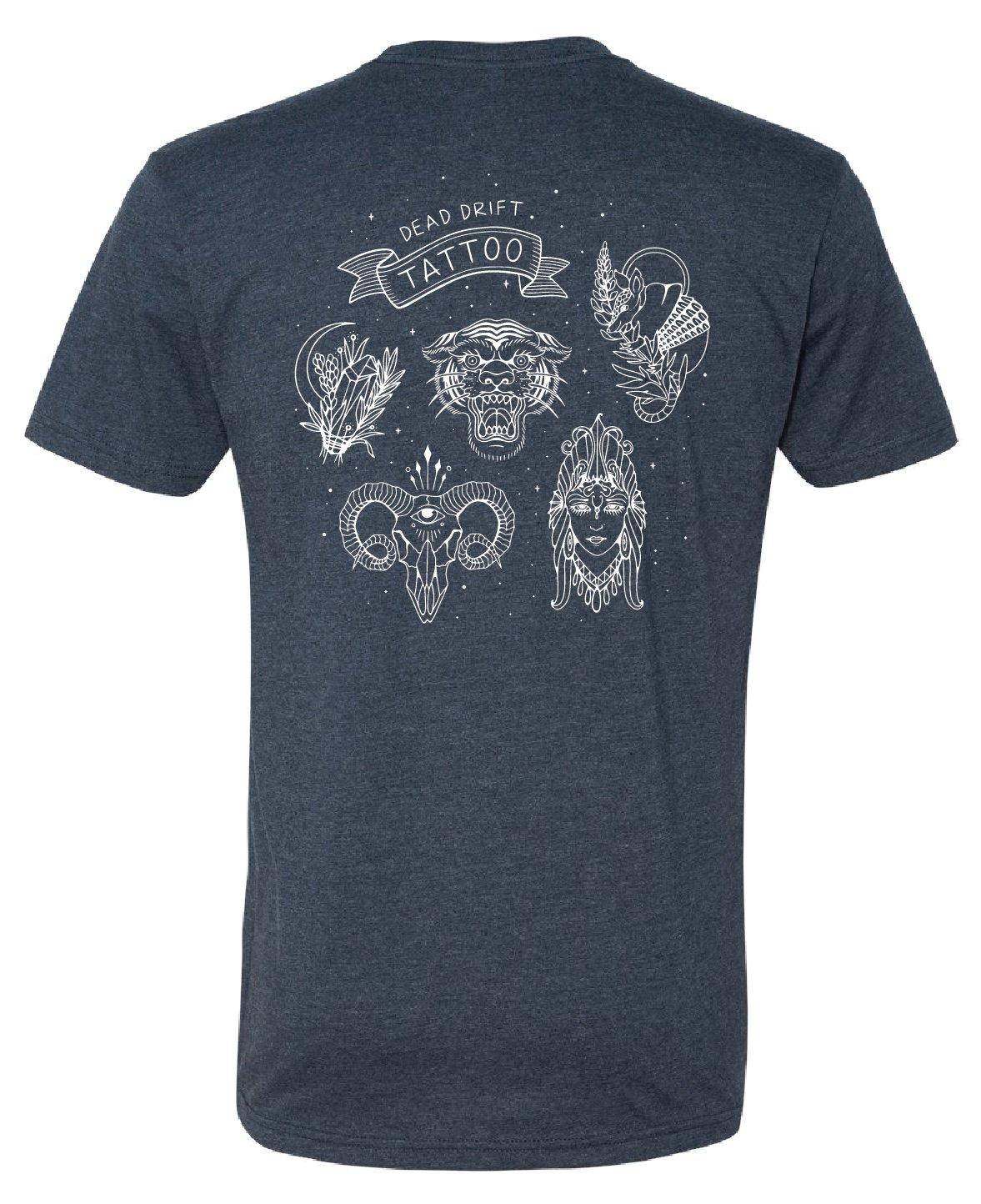 Image of Dead Drift Tattoo Shop Artists Shirt