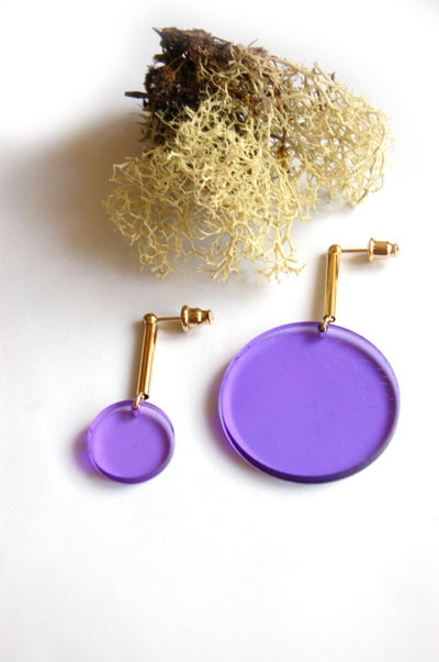 Image of Boucles d'oreilles BIG DOTS