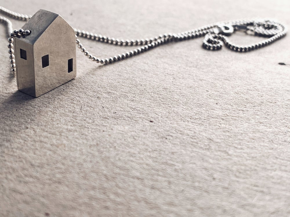 Image of Tiny House Necklace