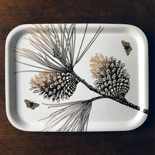 Image of Pine Cone tray 27cm x 20cm