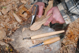 Image of Stage de sculpture de cuillères/spoon carving course