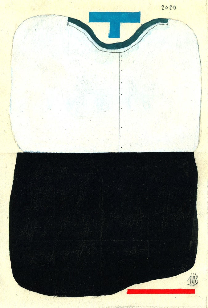 Image of 108, Untitled (A6)