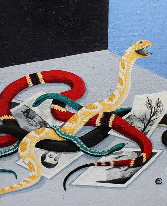 Image of Nudo de serpientes