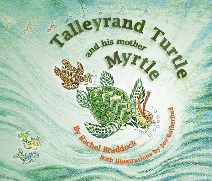 Image of Talleyrand Turtle and his Mother Myrtle