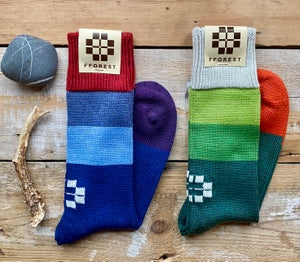 Image of fforest forager woolie socks