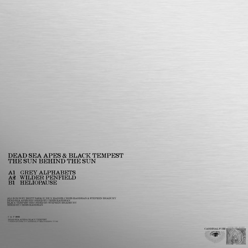 Dead Sea Apes & Black Tempest - Sun Behind The Sun (Mirri Board Sleeve Edition) Cardinal Fuzz 5 LEFT